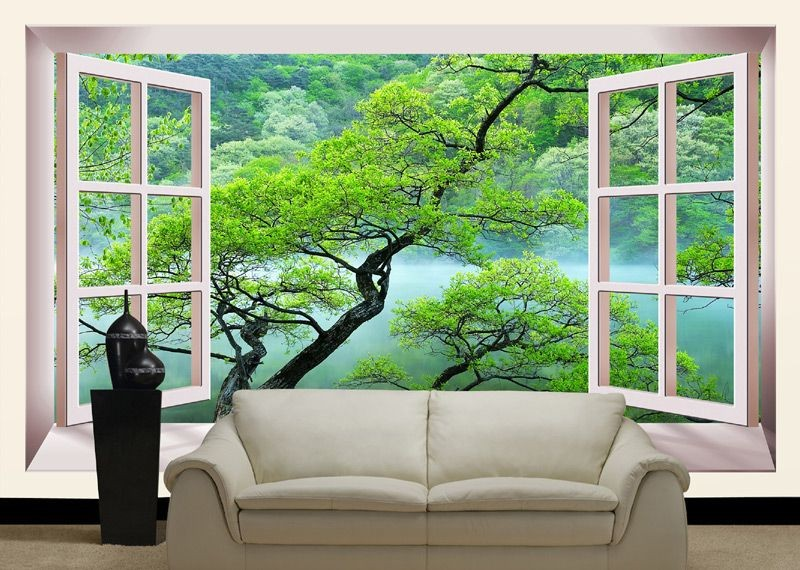 0-windowless-room-interior-design-faux-window-wall-mural-wallpaper
