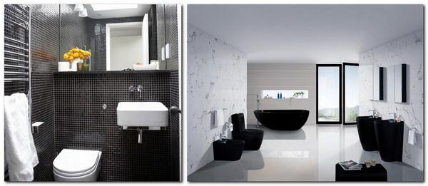 Black And White Bathroom Interior Design Tips Home Interior Design Kitchen And Bathroom Designs Architecture And Decorating Ideas