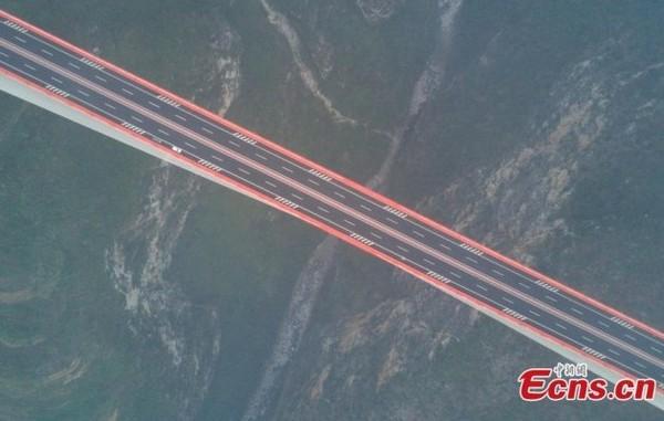 1-world's-highest-bridge-world-record-Beipanjiang-Duge-Bridge-China
