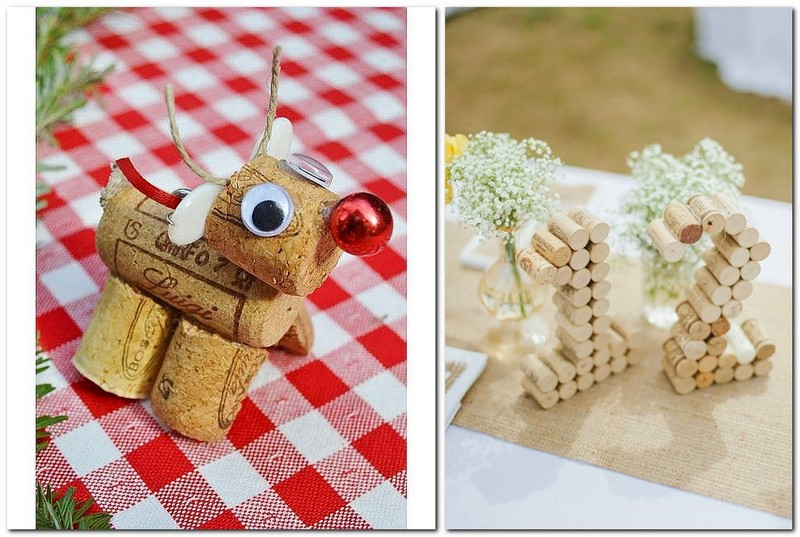 12-wine-cork-re-use-ideas-hand-made-deer-animal-birthday-number-decor