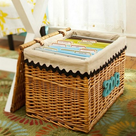 2-how-to-store-important-documents-papers-organization-storage-ideas-wicker-basket-labels