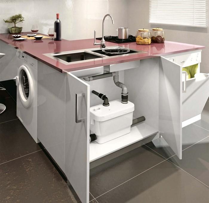 2-kitchen-island-sewer-pumping-station-waste-water-pump-under-the-sink