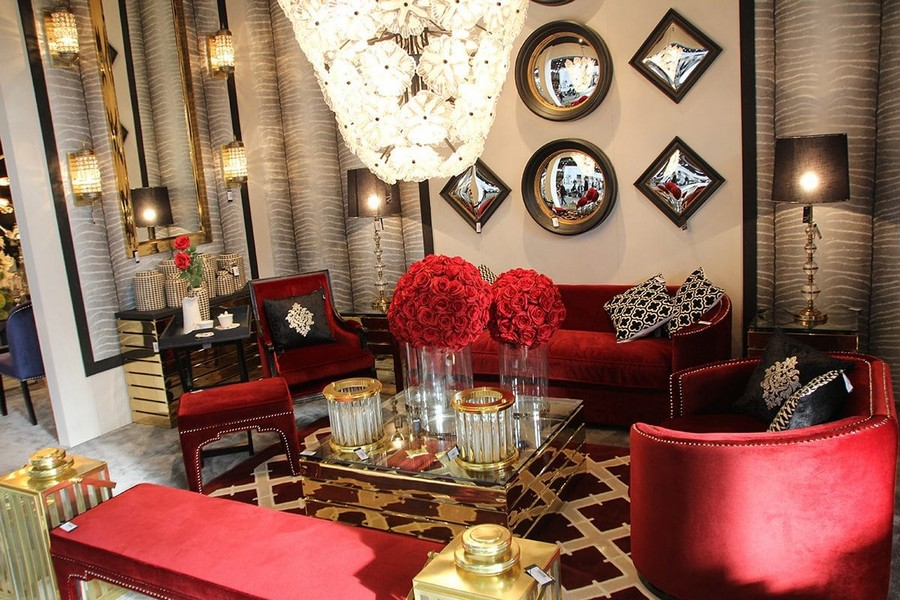 23-Artelore-Home-red-living-room-furniture-arm-chairs-sofa-crystal-chandelier-home-decor-interior-accessories-at-Maison-&-Objet-2017-exhibition-trade-fair