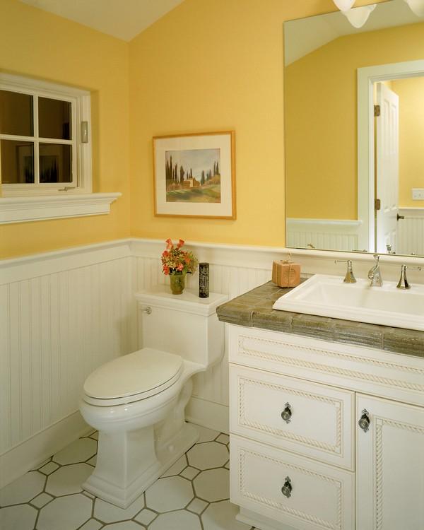 24-cheerful-white-and-pastel-yellow-bathroom-interior-design