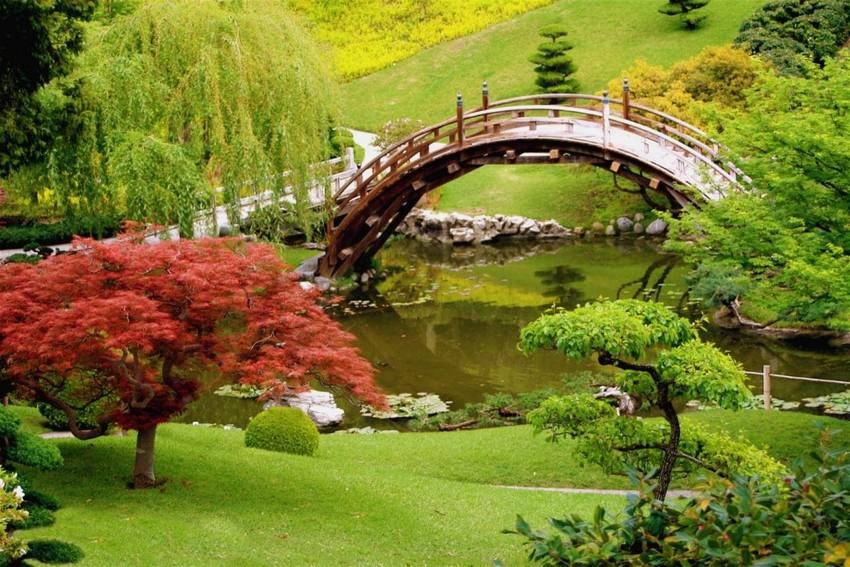 3-2-beautiful-Japanese-garden-pond-bridge