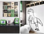 Jurassic Park Inspired Toddler Room