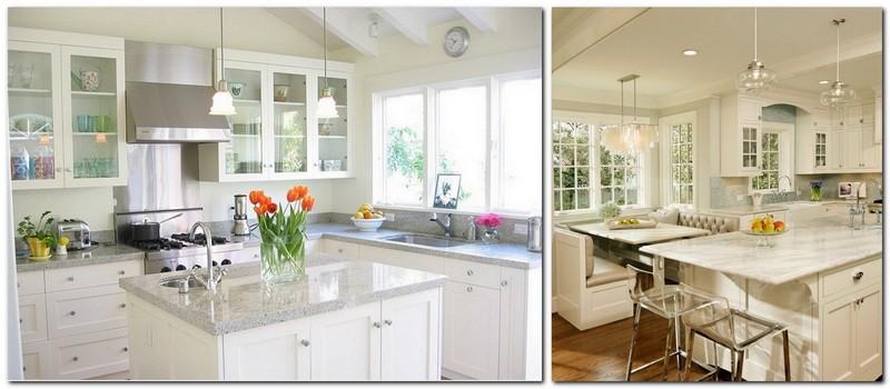 3-neat-tidy-clean-white-kitchen-interior-design-marble-worktop-flowers-in-the-vase