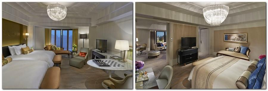 4-1-Mandarin-Oriental-Hotel-Taiwan -Mandarin-Oriental-Hotel-Taiwan-interior-design -classical-French-style-room-bedroom-beige