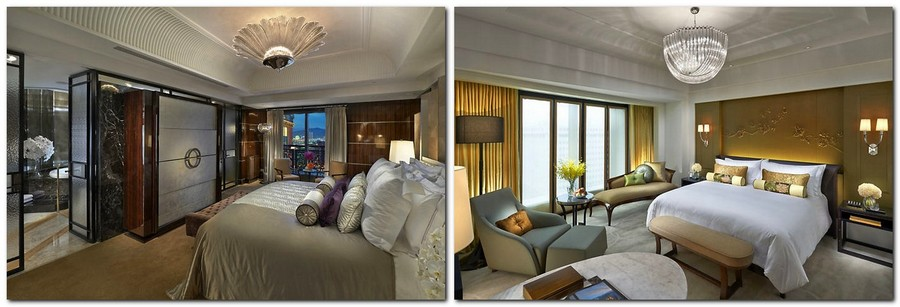 4-3-Mandarin-Oriental-Hotel-Taiwan -Mandarin-Oriental-Hotel-Taiwan-interior-design -classical-French-style-room-bedroom-beige-and-golden