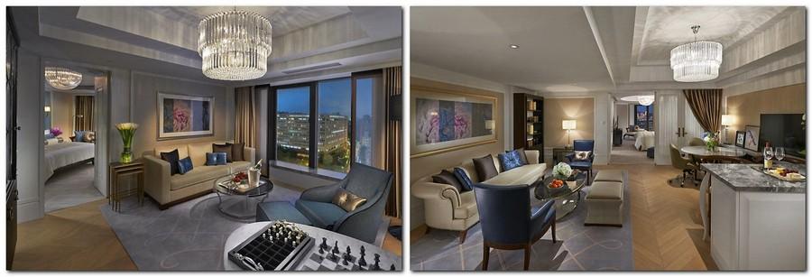 4-4-Mandarin-Oriental-Hotel-Taiwan -Mandarin-Oriental-Hotel-Taiwan-interior-design -classical-French-style-room-bedroom-beige-and-blue