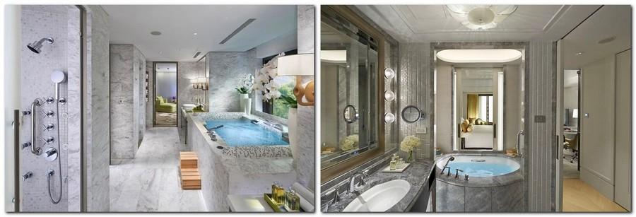 4-6-Mandarin-Oriental-Hotel-Taiwan -Mandarin-Oriental-Hotel-Taiwan-interior-design -classical-French-style-bathroom-gray-marble-tiles