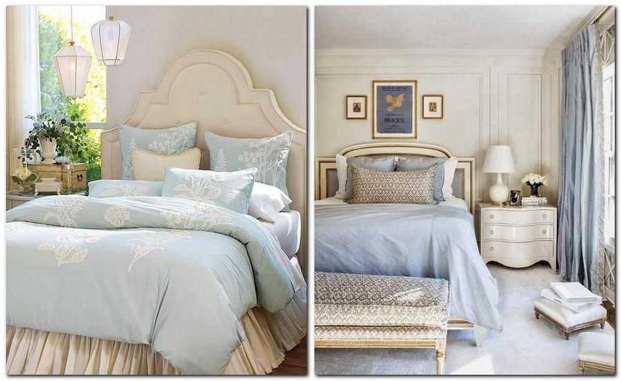 4-Provence-style-bedroom-interior-design-light-blue-upholstered-bed-and-beige
