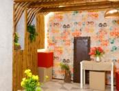Attic Floor Interior Design Inspired by a Sphynx Cat
