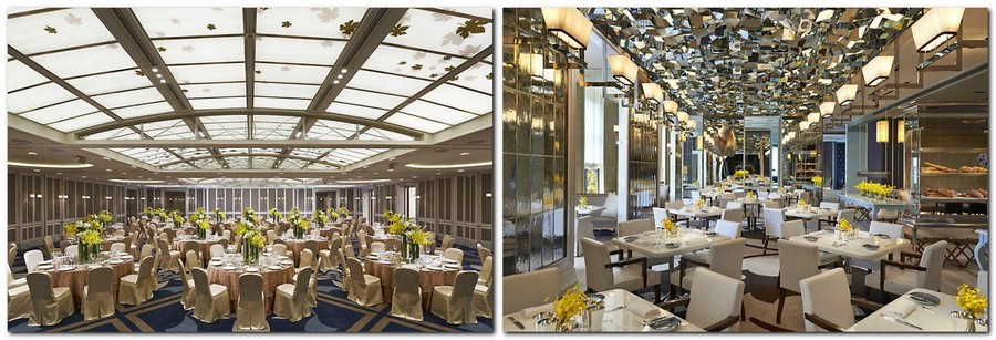 5-1-Mandarin-Oriental-Hotel-Taiwan -Mandarin-Oriental-Hotel-Taiwan-interior-design -classical-French-style-restaurant-neutral-beige