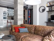 Bachelor's Apartment with Masculine British Temper