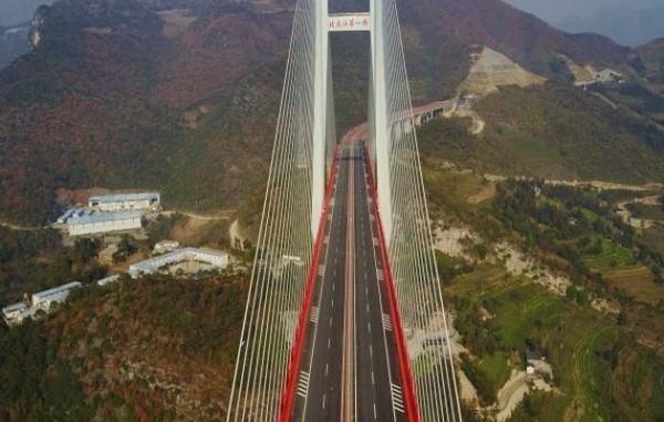 5-world's-highest-bridge-world-record-Beipanjiang-Duge-Bridge-China