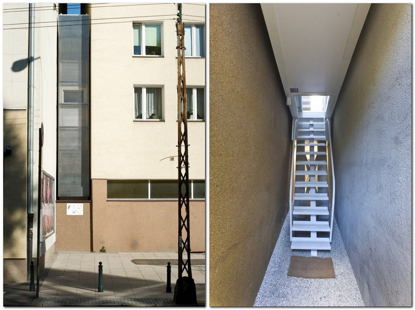 5-world's-narrowest-houses-centrala-studio-Keret-house-Warsaw-Poland-unusual-architecture