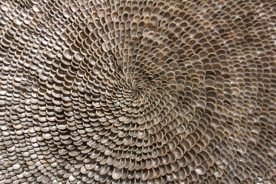 7-Rosemarie-Schulz-sea-shells-wall-decor-composition-home-decor-interior-accessories-at-Maison-&-Objet-2017-exhibition-trade-fair