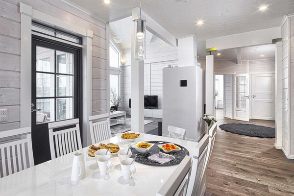 7-white-and-gray-Scandinavian-style-interior-design-furniture-walls-wooden-house-IKEA-dining-room-set