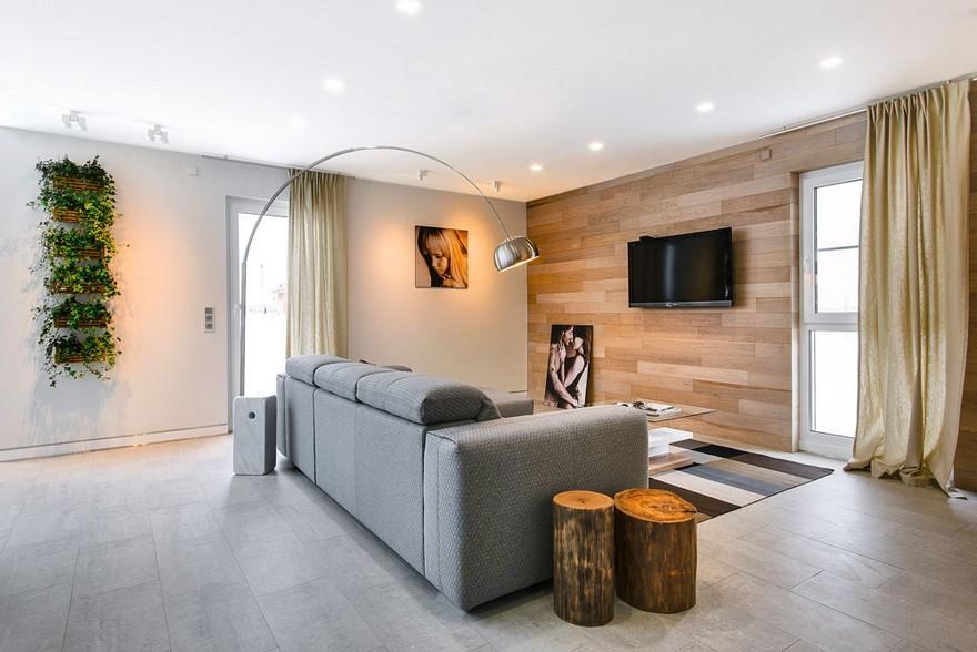 7-white-beige-and-gray-minimalist-Scandinavian-style-house-interior-design-open-plan-living-room-big-corner-sofa-rotating-floor-lamp-curtains-carpet-rug-tree-stumps-eco