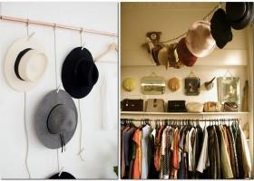 8-hat-storage-ideas-organizer-rod-chain-dislplay-in-walk-in-closet-vintage