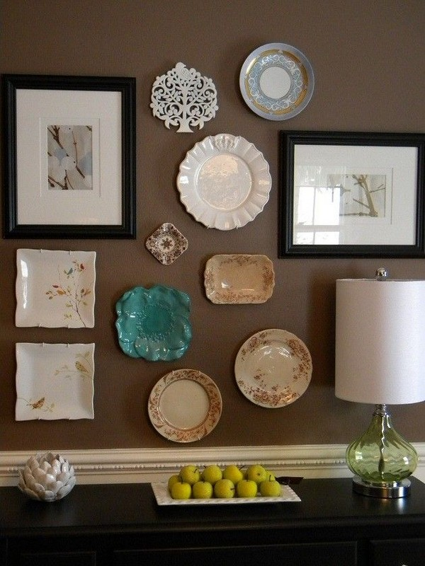9-mismatched-decorative-plate-hanging-on-wall-decor-ideas