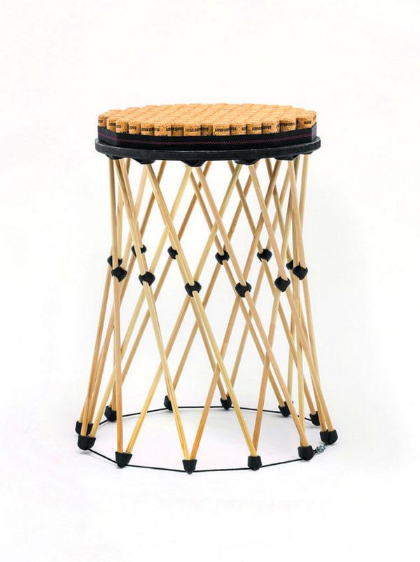9-shukhov-shabolovka-tower-inspired-designer-stool-wooden-modular-Russian-furniture-printed-on-3D-printer-item