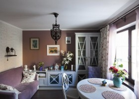 0-eclectic-provence-style-interior-design-living-room-crossbars-faux-brick-wall-dining-set-furniture-pink-and-white