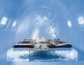 Fantastic Hand-Carved Interiors of Icehotel in Sweden