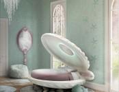 Dream Kids' Furniture: Little Mermaid, Rocket & Air Balloon