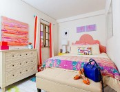 Bright and Cozy Windowless Bedroom: Before and After