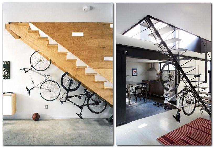 10-creative-bike-bicycle-storage-idea-under-staircase-mount-rack