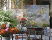 Most Beautiful Contemporary Flower Paintings by Claire Basler