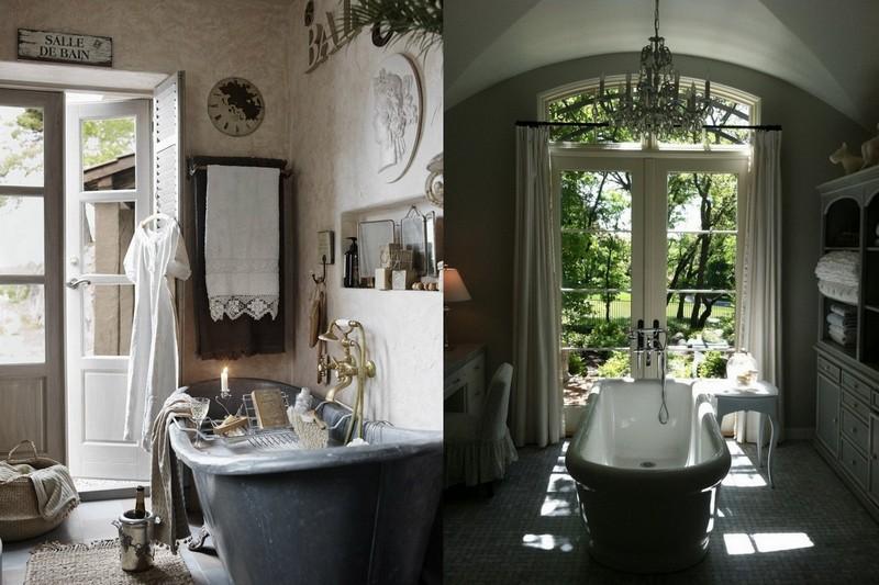 3-Provence-style-bathroom-interior-design-vintage-retro-bathtub-decor-pastel-colors-furniture-with-a-window-dressign-table-cupboard