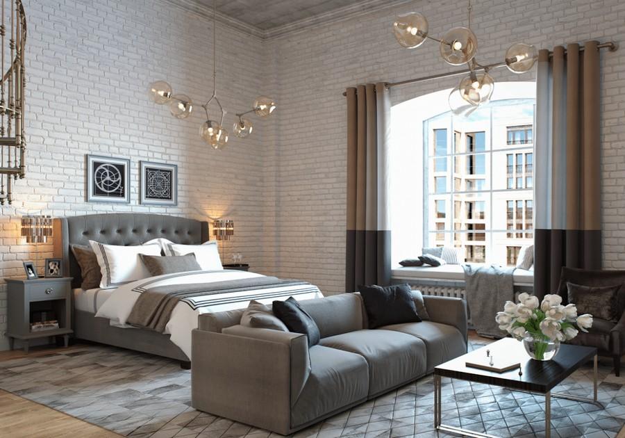 Loft Studio Apartment with Mezzanine & Gorgeous Library ...