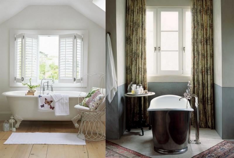 4-Provence-style-bathroom-interior-design-vintage-retro-bathtub-decor-pastel-colors-furniture-clawfoor-bath-big-window-curtains-coffee-table-metal-chair