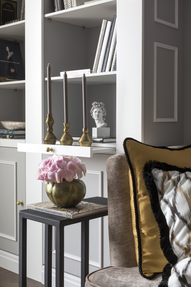 Interior Design Library Room: How To Arrange A Large Home Library In A Small Living Room