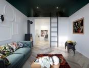 Apartment with Kale Mezzanine & Hieronymus Bosch Replicas