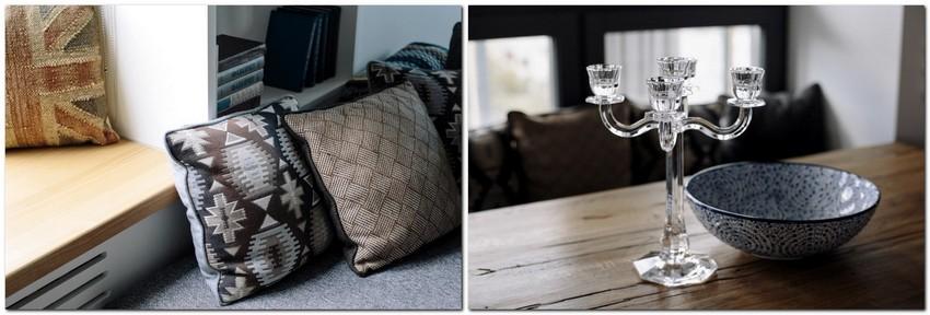 5-2-3-gray-and-black-decorative pillows-bowl-candlestick