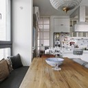 5-5-minimalist-style-white-walls-and-gray-apartment-interior-design-glass-interior-partition-from-dining-room-to-bedroom-table-sitting-place-on-window-sill