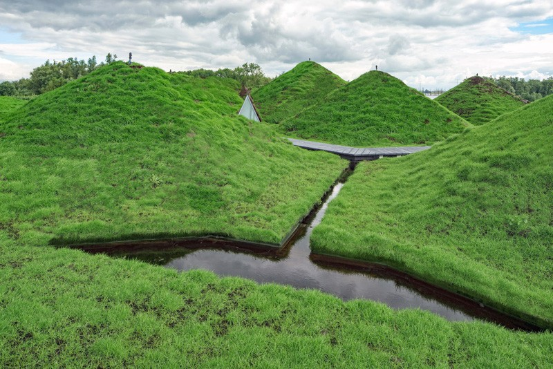 5-Biesbosch-national-park-museum-with-green-living-roof-in-Netherlands