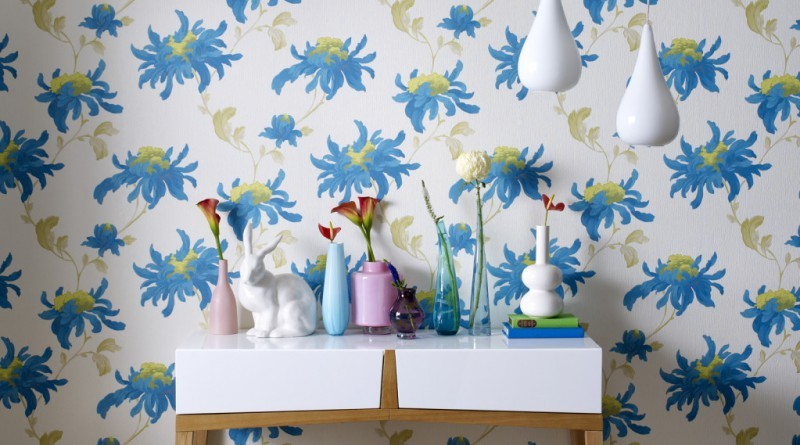 6-1-floral-pattern-English-British-style-wallpaper-design