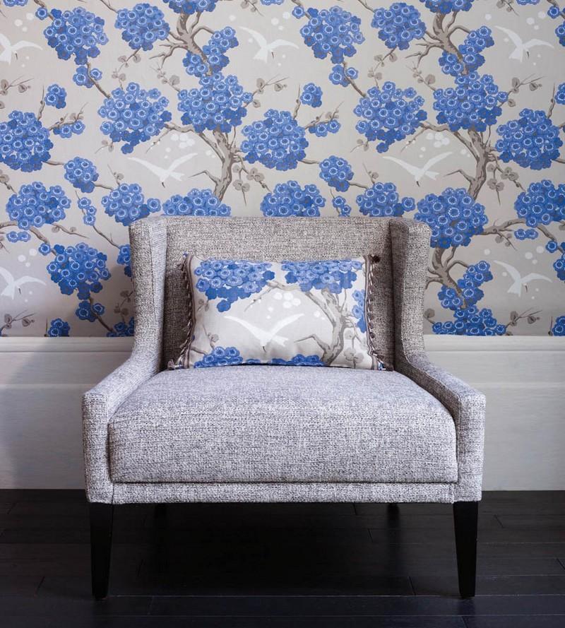 6-2-Osborne-And-Little-Verdanta-Japonerie-floral-pattern-English-British-style-wallpaper-design-blue-and-white-flowers-cherry-blossom