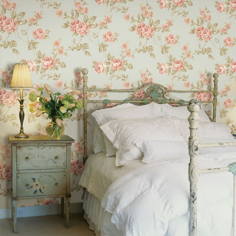 6-4-pale-blue-and-pink-provence-style-floral-pattern-English-British-style-wallpaper-design