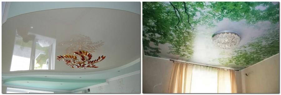 7-stretch-ceiling-light-blue-white-digital-printing-greenery-spring