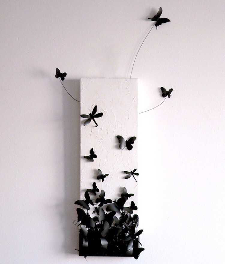 8-butterfly-wall-art-decor-ideas-black-and-white-gothic