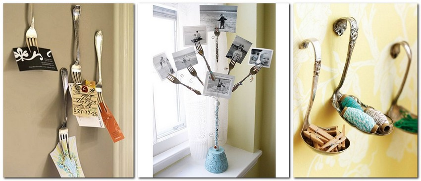8-how-to-re-use-old-cutlery-forks-spoons-ladles-ideas-sticky-note-holder-organizer-DIY-handmade