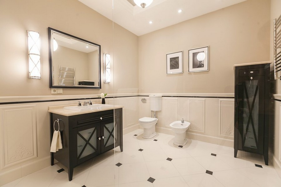 9-2-beige-and-brown-big-bathroom-interior-design-cupboard-toilet-bidet-wash-basin-cabinet-mirror-wall-lamps-glass-shower-cabin