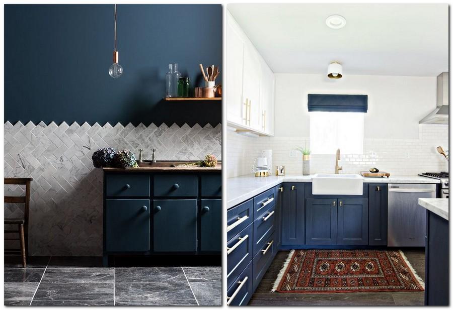 9-top-colors-2017-Pantone-lapis-blue-in-interior-design-base-kitchen-set-cabinets-white-upper-cabinets