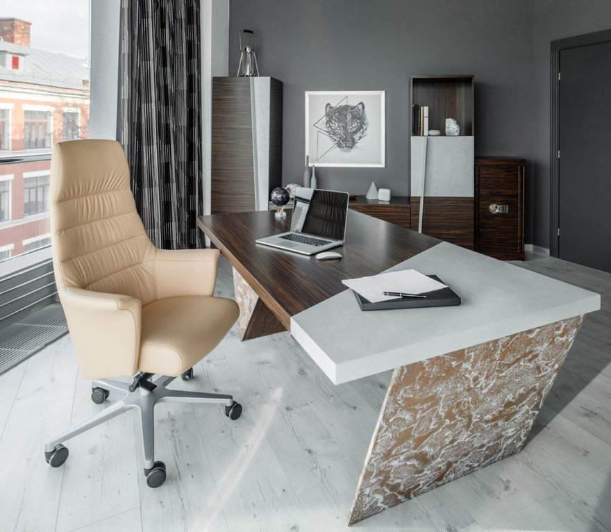0-contemporary-style-office-interior-design-beige-gray-brown-brutal-mixed-material-concrete-and-zebrawood-wooden-furniture-panoramic-window-creative-desk-curtains-cabinet